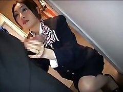 Asian, Stewardess, Japanese stewardess