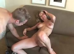 Milf, Married milf cant say no to japanese massage with japanese stranger