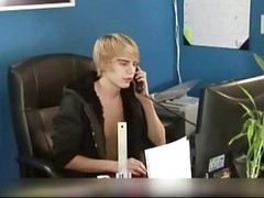 Office, Sexy lesbians get it on in the office-redtubefiles video