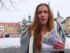 Flashing, Public, Creampie, 2 creampies