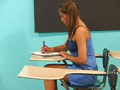 Latina, Teacher, School teacher fucked by her student reluctant