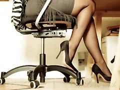 Office, Heels, Japaneses office lady