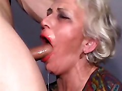 Granny, Black granny get her big huge boobs sucked and bite