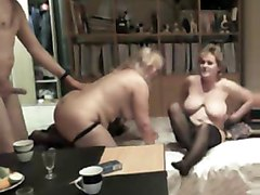 Amateur, Club, Couple first time swingers club