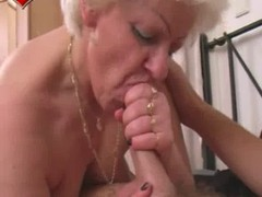 Granny, Blowjob, Homework blowjob