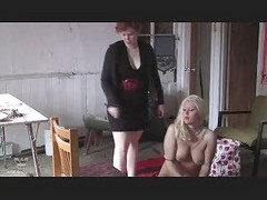 Bdsm, Domination, Lesbian, Kitty and mature lesbian
