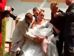 Gangbang, Bride, Wedding, Bride dp