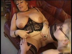Granny, Maid, Naked man interview maid