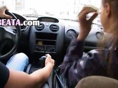 Car, Blowjob, Pervet spy car